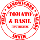 Tomato & Basil Menu