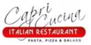 Capri Cucina Menu