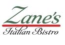 Zane's Italian Bistro Menu