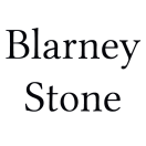 Blarney Stone Menu
