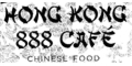 Hong Kong 888 Cafe Menu