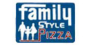 Family Style Pizza Menu