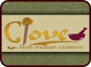 Clove Fine Indian Cuisine Menu
