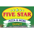 Five Star Pizza & More (Quincy) Menu