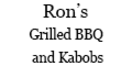 Ron's Grilled Barbecue and Kabobs Menu