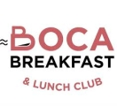 Boca Breakfast & Lunch Club Menu