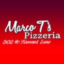 Marco T's Pizzeria Menu