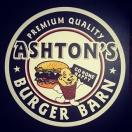 Ashton's Burger Barn Menu