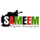 Sameem Afghan Restaurant Menu