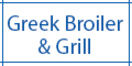 Greek Broiler & Grill Menu