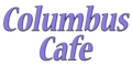 Columbus Cafe Menu