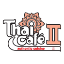 Thai Cafe II Menu