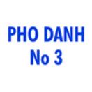 Pho Danh No 3 Menu