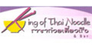 King of Thai Noodle Menu