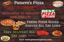 Passero's Pizza (Route 53) Menu