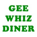 Gee Whiz Diner Menu