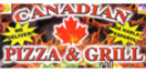 Canadian Pizza Menu
