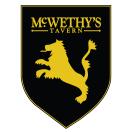 McWethy's Tavern Menu