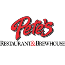 Pete's Restaurant and Brewhouse Menu