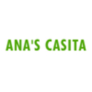 Ana's Casita Menu