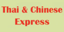 Thai & Chinese Express Menu