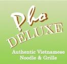 Pho Deluxe Arlington Menu