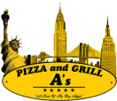 A's Pizza and Grill Menu