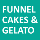 Funnel Cakes and Gelato Menu