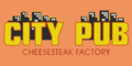 City Pub Cheese Steak Factory Menu