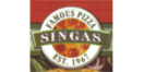 Singas Famous Pizza Menu