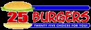 25 Burgers & Pizza Menu