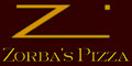 Zorbas Pizza Menu