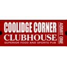 Coolidge Corner Clubhouse Menu