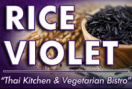 Rice Violet Menu