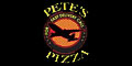 Pete's Pizza 1 Menu