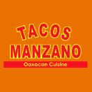 Tacos Manzano Menu