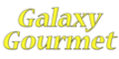 Galaxy Gourmet Menu