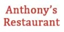 Anthony's Restaurant Menu