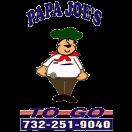 Papa Joe's To Go Menu