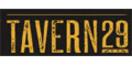 Tavern 29 Menu