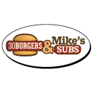 30 Burgers & Mike's Subs Menu