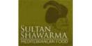 Sultan Shawarma Menu