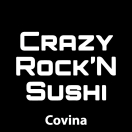 Crazy Rock'n Sushi Menu