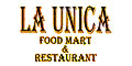 La Unica Food Mart Menu