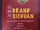 Grand Sichuan Menu