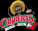 Cabrera's Restaurant Menu