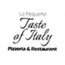 La Pequena Taste of Italy Menu
