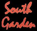 South Garden Menu