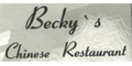 Becky's Chinese Restaurant Menu