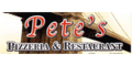 Pete's Pizzeria & Restaurant Menu